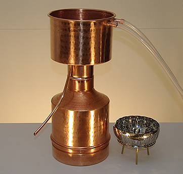 Stills and equipment to produce essential oils & hydrosols