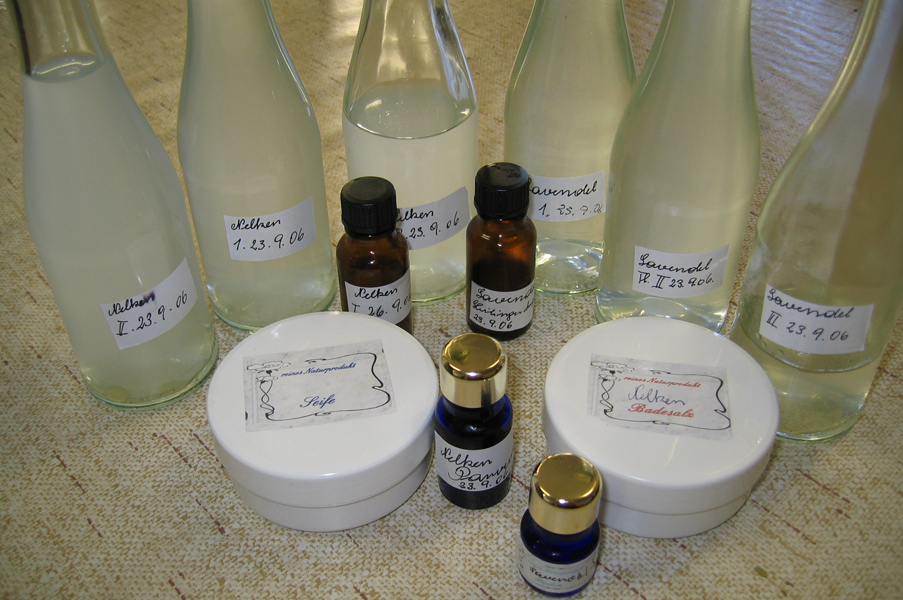 Overview of All Products - Course Distilling Essential Oils
