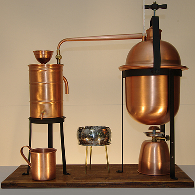 Alcohol Stills: Buy or How to Make a Moonshine Still - 6 ...